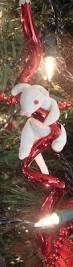 dog christmas ornament dog bone mosaic christmas pinterest