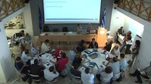 Table Top Exercise by Nereids Project 1st Table Top Exercise Crete Youtube