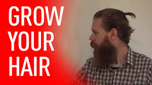 how long for hair to grow out of inverted bob growing your hair out tips for men eric bandholz youtube