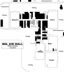 Bel Air Floor Plan by Mall Hall Of Fame February 2008
