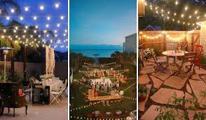 Decorating With String Lights 26 Breathtaking Yard And Patio String Lighting Ideas Will