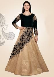 gowns for wedding buy online gowns for reception party india beige designer look