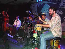 garage cuban band fired up latin rhythms and amp noise live