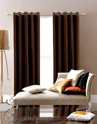 Chocolate Curtains Eyelet Awesome Chocolate Brown Curtains And Chocolate Brown Cotton Canvas