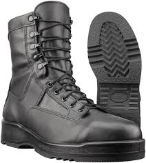 wellco us navy issue flight deck temperate weather boot black
