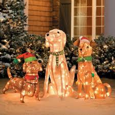 lighted dog christmas lawn ornament jumbo 15 foot tall christmas inflatable reindeer outdoor yard
