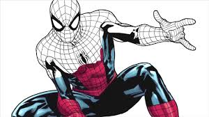 how to draw hero spiderman drawing and coloring spiderman for