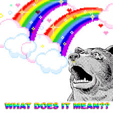 Double Rainbow Meme - what does it mean señor gif funny gifs