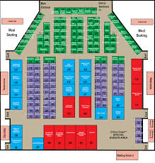 Expo Floor Plan by Exhibitor Maps Citrus Expo