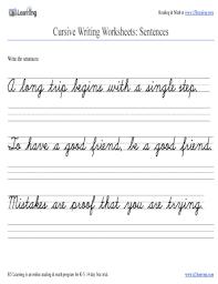 fillable online free cursive writing worksheet practice sentence