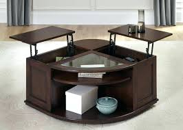 oval lift top coffee table oval coffee table with lift top coffee