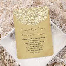vintage wedding invitations cheap vintage lace ticket shape wedding invites ewir265 as low