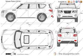 nissan patrol 2016 the blueprints com vector drawing nissan patrol