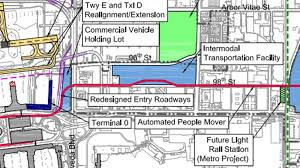 Los Angeles Airport Terminal Map by New Lax Plan Lays Out Details For Airport People Mover Curbed La