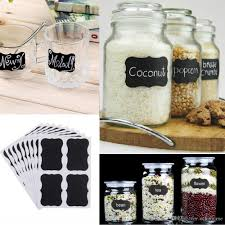 new blackboard sticker craft kitchen jar organizer labels