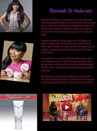 shekinah anderson hair stylist atlanta shekinah jo anderson anderson artist biographies celebrity