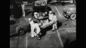 united states 1960s test cars crash crash test dummies in car
