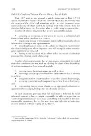 appendix c conflict of interest in four professions a