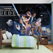 star wars return of the jedi wall paper mural buy at europosters star wars return of the jedi wallpaper mural
