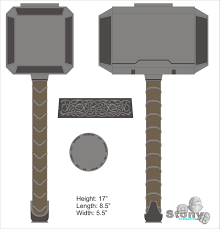 mjolnir thor 2 hammer