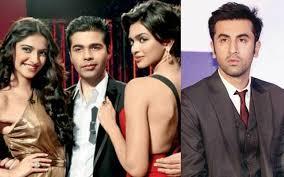 5 Deepika Padukone Controversies That Stunned Bollywood - koffee with karan wasn t me says sonam on trashing ranbir with