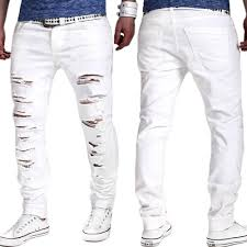 Ripped Denim Jeans For Men Compare Prices On Skinny Distressed Jeans Men Ripped Online