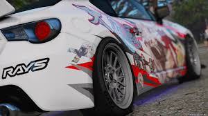 subaru brz rocket bunny wallpaper subaru brz rocket bunny anime for gta 5