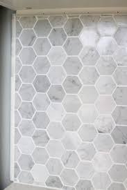 How To Install A Marble Hexagon Tile Backsplash Kitchen - Hexagon tile backsplash