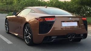 lexus v10 2016 one off lexus lfa looks magnificent in pearl brown autoevolution