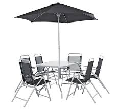 6 Chair Patio Set Buy Home Pacific 6 Seater Patio Furniture Set At Argos Co Uk