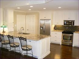 Cream Colored Kitchen Cabinets With White Appliances by Bedroom Kitchen Designs With White Cabinets Painting Cabinets
