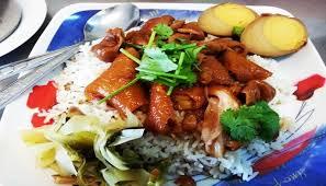 rice cuisine ข าวขาหม พ 4 stewed pork leg on rice ถนนประชาสงเคราะห now