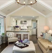 Kitchen Living Room Open Floor Plan Best 25 Small Open Kitchens Ideas On Pinterest Open Shelf