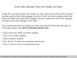 hotel sales manager