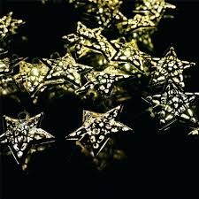Snowflake Lights Outdoor Nitebulbs Solar Powered Outdoor String Lights Reviews Patio Uk