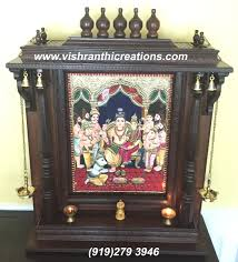 Mandir Decoration At Home Pooja Mandirs Onlne Tanjore Paintings Home Decors Gifts
