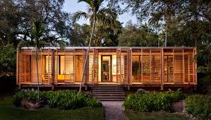 concrete and glass summer house iranews brillhart in miami florida
