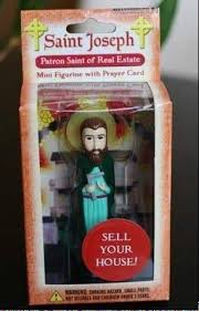 Bury St Joseph In Backyard Trouble Selling Your House Try Burying A Saint
