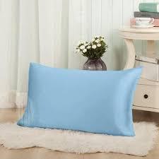 light blue pillow cases thxsilk silk pillowcase for hair and skin silk pillow cover pillow