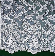 Rooster Lace Curtains by Lace Curtains Eloquence Of Roses 60x84 White Panel Heritage Lace