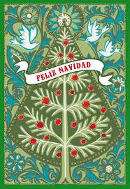 wishes for harmony beauty and joy spanish christmas card