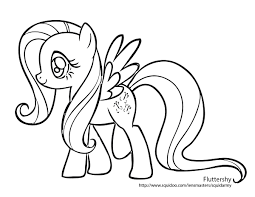 my little pony clipart colouring page pencil and in color my