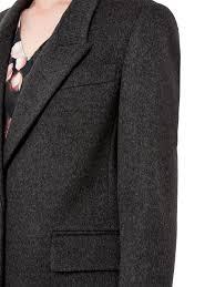 jaeger wool cashmere boyfriend coat in gray lyst