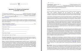 sample contract template
