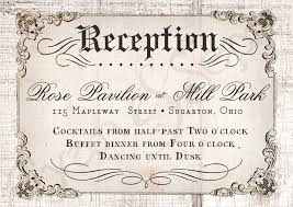 wedding reception invitations reception wedding invitation sunshinebizsolutions