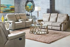 Contemporary Reclining Sofa With Topstitch by Boardwalk Stone Reclining Sofa From Standard Furniture Coleman