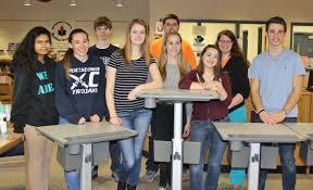 standing desks for students pottstown wins national essay contest gets 30 sit stand desks fit