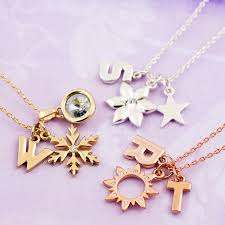 letter necklace jewelry images Design your own chunky letter necklace by j s jewellery jpg