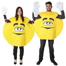 m m costume emoji emoticon m m sweet milk chocolate mens womens adults fancy