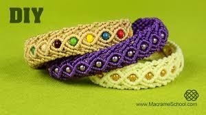 pandora style bracelet diy images Eternal wave bracelet tutorial macrame school jpg